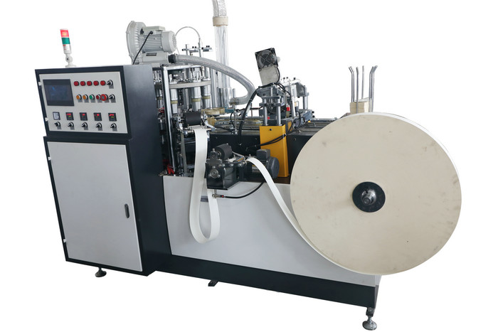 Eco Friendly Paper Cups Making Machines / High Power Paper Cup Shaper