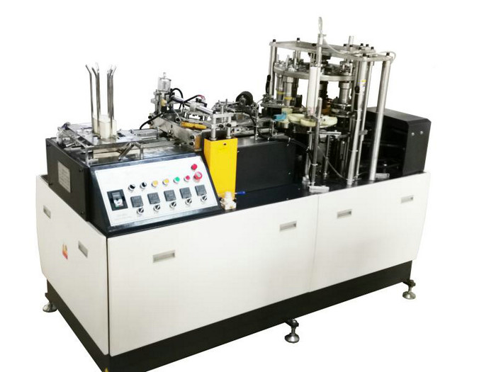 Fully Automatic Paper Cup Making Machine With PLC Touch Screen Control